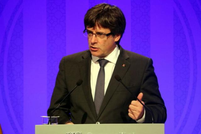 GOVERN | Comparecencia del President Puigdemont sobre la crisis de Pontons y Vall d'Aran _foto310