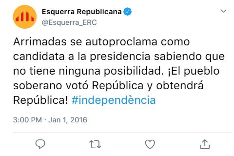 Esquerra Republicana - @Esquerra_ERC Baixa16