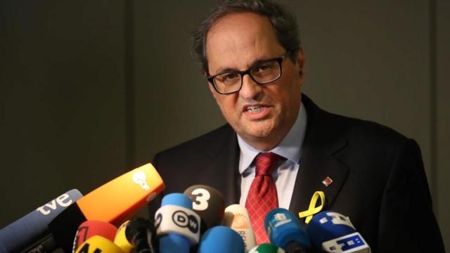 GOVERN | Comparecencia del President Torra tras la moción de censura de Pedro Sánchez (02/06/2018) Quim10