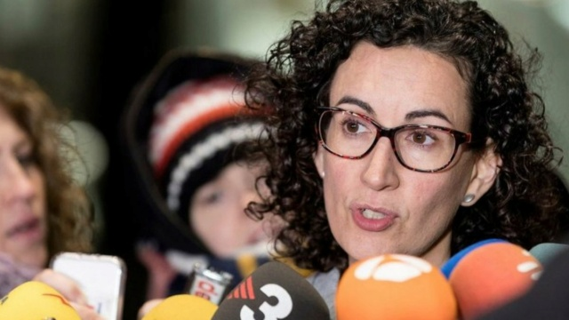 [ERC] Marta Rovira: ''Interior ha convertido a los Mossos d'Esquadra en la policía privada de CDC'' Rovira11