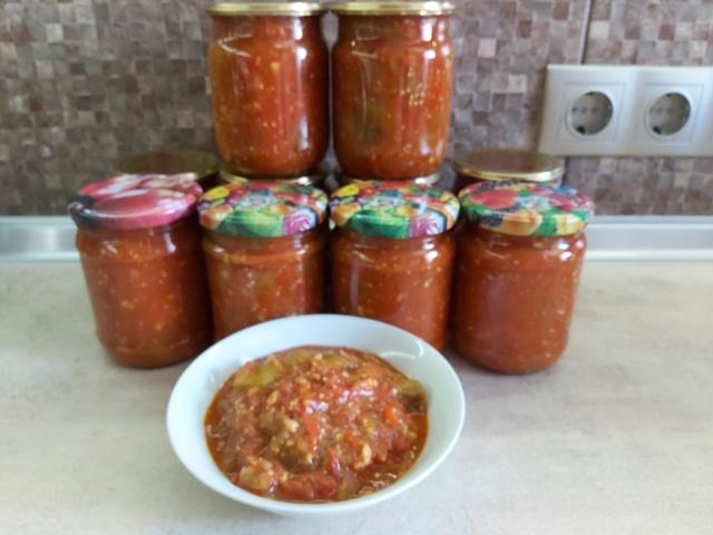 Лечо, соусы, салаты - Страница 6 20200937