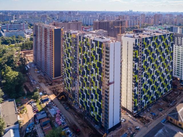"""На ЖК """"Летний сад"""" - начался монтаж фасадных конструкций! Теплозвукоизоляция под ними - лучше, чем у соседнего ЖК """"Город"""" - Страница 6 1014"""