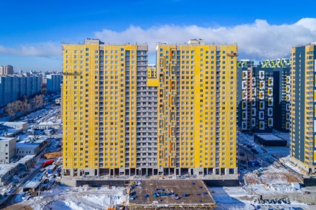 """На ЖК """"Летний сад"""" - начался монтаж фасадных конструкций корпусов второй очереди строительства - Страница 3 1214110"""