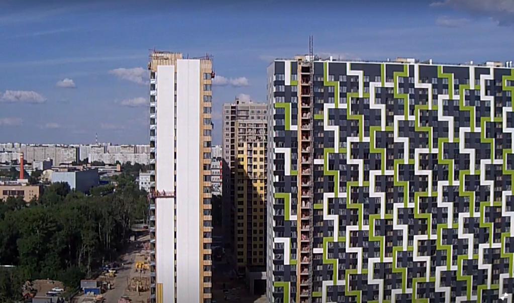 """На ЖК """"Летний сад"""" - начался монтаж фасадных конструкций корпусов второй очереди строительства - Страница 3 77710"""