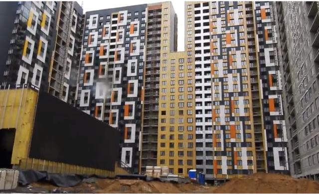 """На ЖК """"Летний сад"""" - начался монтаж фасадных конструкций корпусов второй очереди строительства - Страница 2 810"""