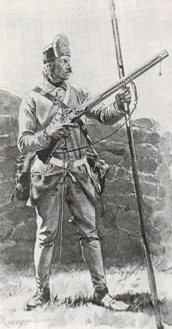 Fusil Double Autrichienne - Doppelstutzen 1768 129