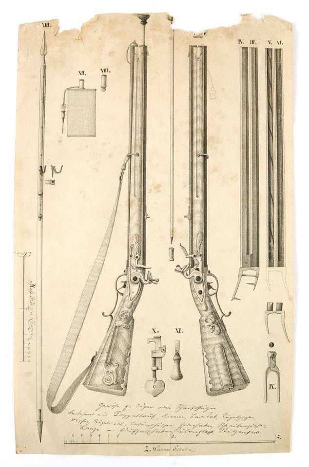 Fusil Double Autrichienne - Doppelstutzen 1768 25659610