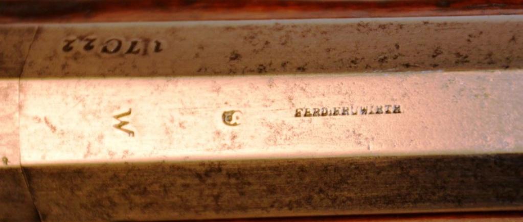 Fusil Kammerbuchse 1849 513