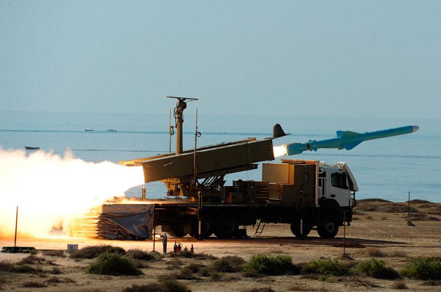 ألقصة الكاملة لصاروخ C-802 ووصولهُ لأيدي الأيرانيين Firing10