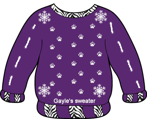 CONTEST: Ugly Christmas Sweater Contest Gayle_17