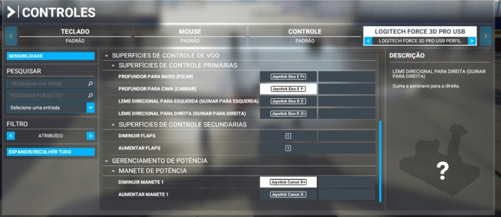 Perfis Joystick Logitech Force 3D Msfs_l10