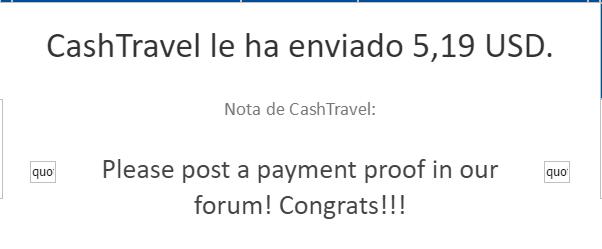 [PAGANDO] CASHTRAVEL - cashtravel.info - Refback 80% - Mínimo 0.05$ - Rec. pago 11 - Página 5 0150