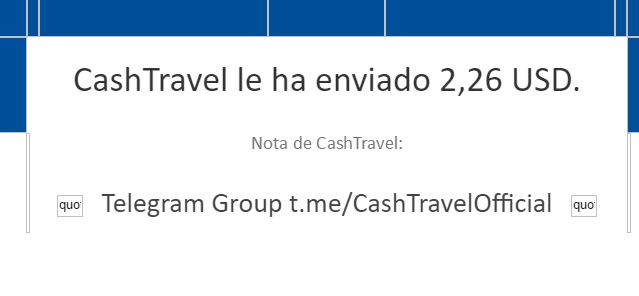 [PAGANDO] CASHTRAVEL - cashtravel.info - Refback 80% - Mínimo 0.05$ - Rec. pago 11 - Página 5 0318