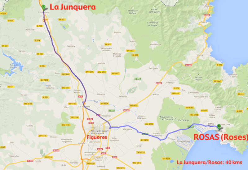 ITINERAIRE ROSAS HOTEL VICTORIA 0-junq10