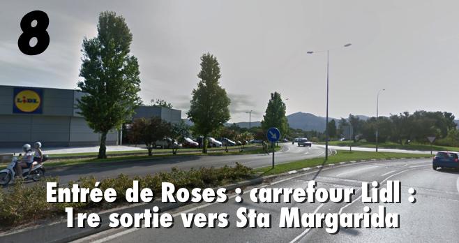 ITINERAIRE ROSAS HOTEL VICTORIA 810