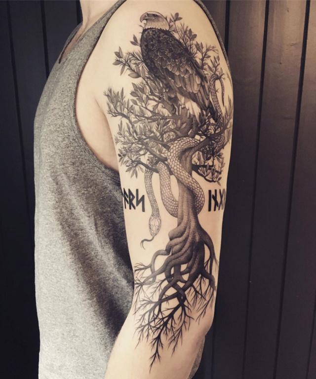 Татуировки с Рунами (подборка фото) - Страница 10 14ac3010