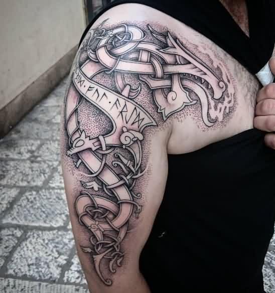 Татуировки с Рунами (подборка фото) - Страница 11 60f4c910