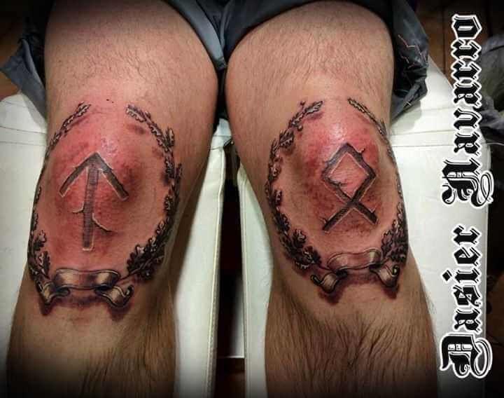 Татуировки с Рунами (подборка фото) - Страница 10 86c8c311