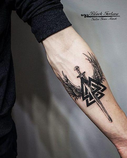 Татуировки с Рунами (подборка фото) - Страница 10 97300010