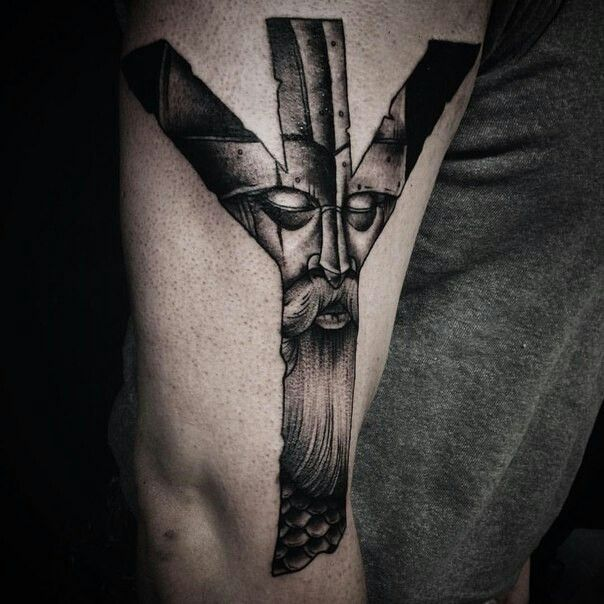 Татуировки с Рунами (подборка фото) - Страница 11 A808f710