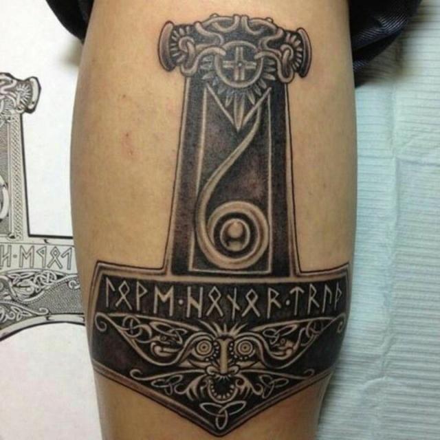 Татуировки с Рунами (подборка фото) - Страница 12 De855211