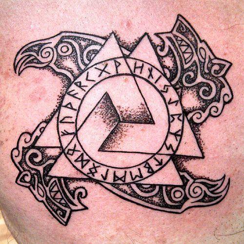 Татуировки с Рунами (подборка фото) - Страница 11 E2720010