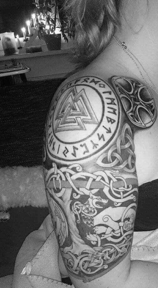 Татуировки с Рунами (подборка фото) - Страница 10 Efe30d12