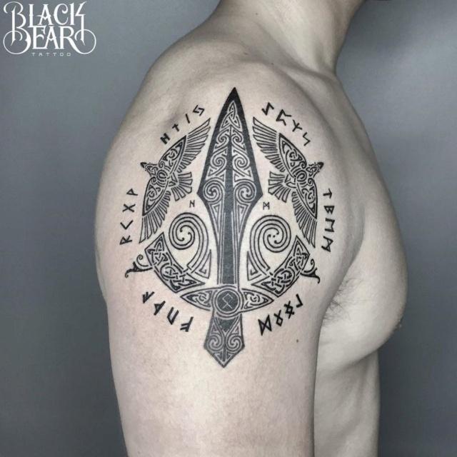 Татуировки с Рунами (подборка фото) - Страница 11 Grgmv310