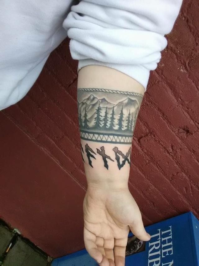 Татуировки с Рунами (подборка фото) - Страница 10 H2cu8012
