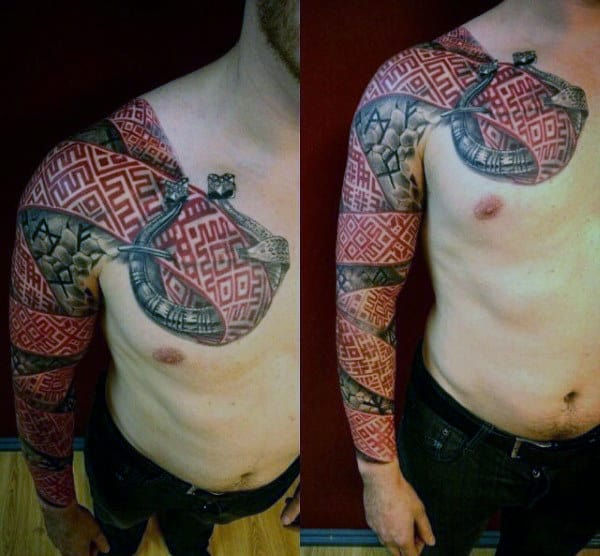 Татуировки с Рунами (подборка фото) - Страница 12 Mens-f12
