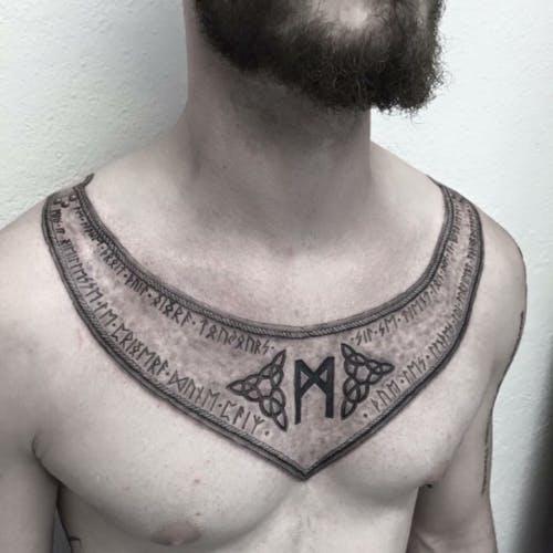 Татуировки с Рунами (подборка фото) - Страница 11 Postim10