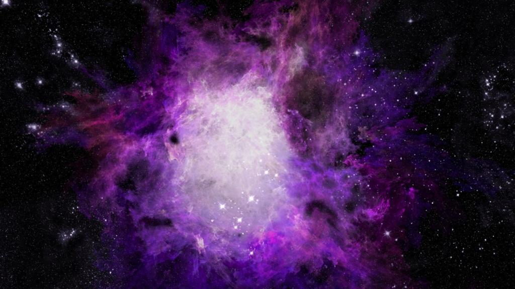 Звёздное небо и космос в картинках - Страница 4 Purple10