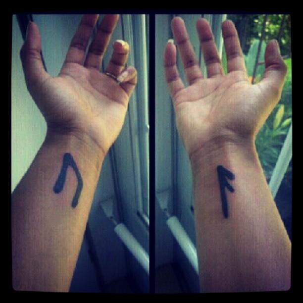 Татуировки с Рунами (подборка фото) - Страница 11 Tumblr36