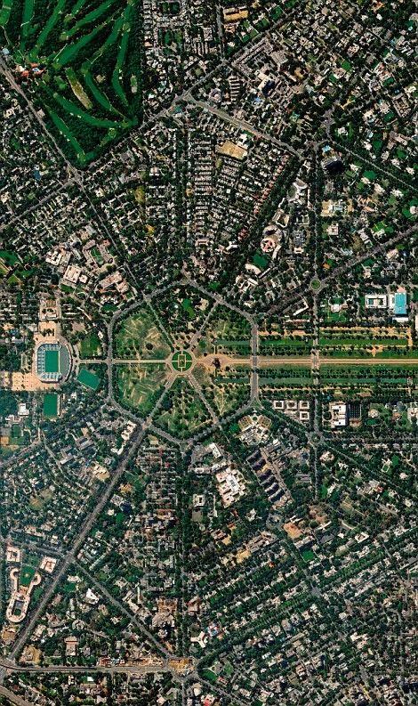 Ovi gradovi izgrađeni su planski, a iz svemira izgledaju - apsolutno nevjerojatno! 24ec5610