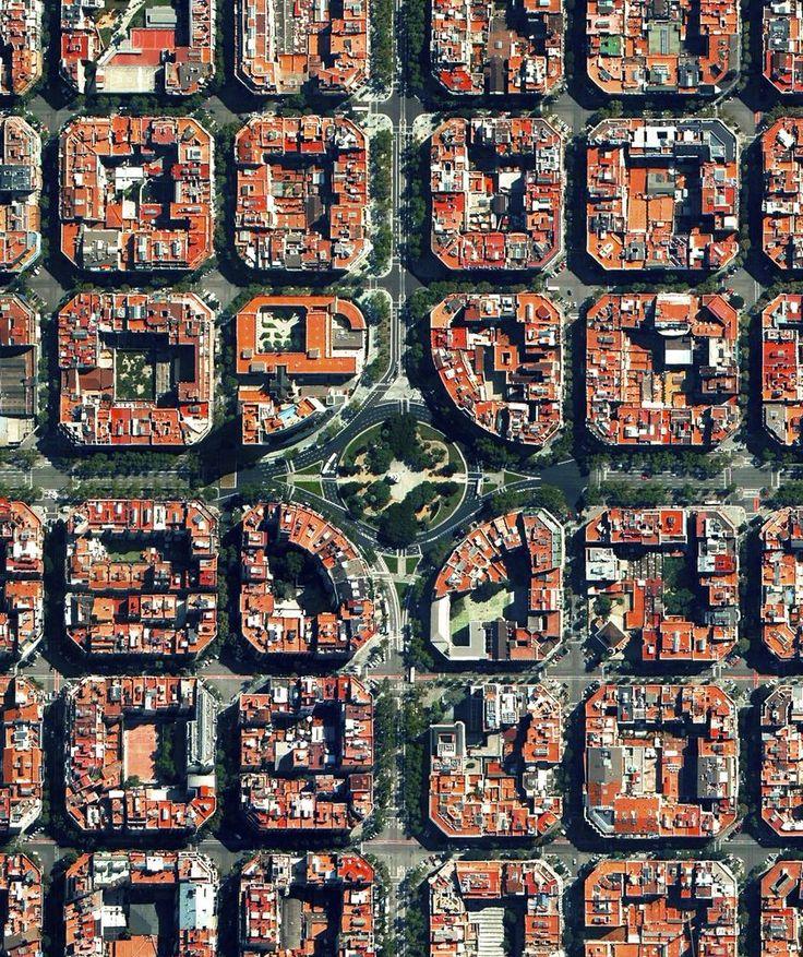 Ovi gradovi izgrađeni su planski, a iz svemira izgledaju - apsolutno nevjerojatno! 46616910