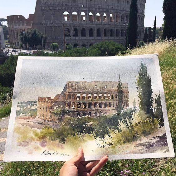Arhitektura u delima slikara - Page 2 70d5de10
