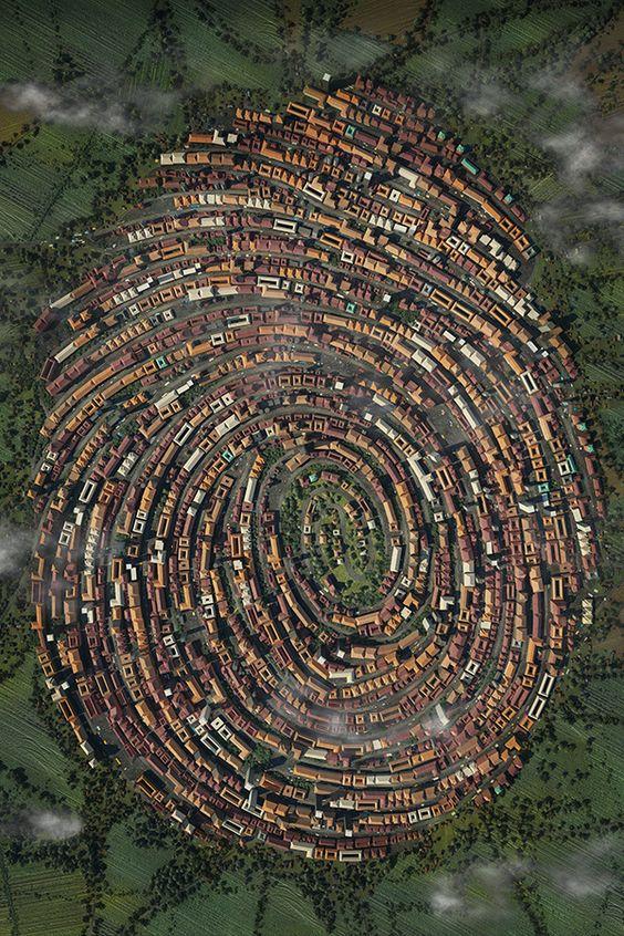 Ovi gradovi izgrađeni su planski, a iz svemira izgledaju - apsolutno nevjerojatno! - Page 2 786ede10