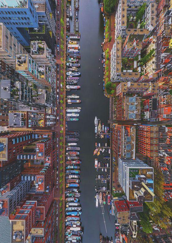 Ovi gradovi izgrađeni su planski, a iz svemira izgledaju - apsolutno nevjerojatno! 84282710