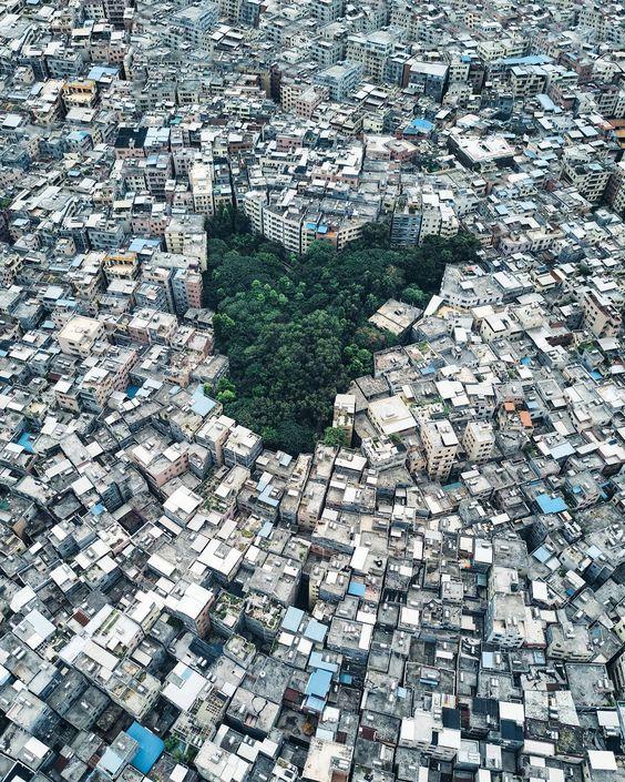 Ovi gradovi izgrađeni su planski, a iz svemira izgledaju - apsolutno nevjerojatno! Af692710