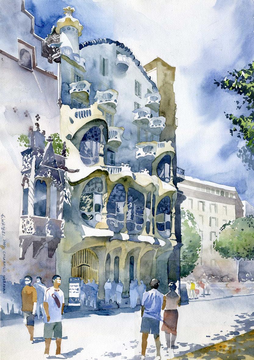 Arhitektura u delima slikara Grzego10