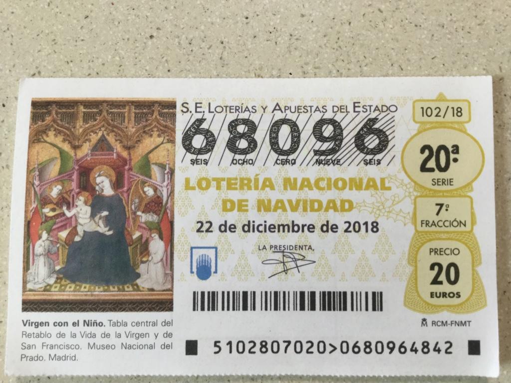 LOTERÍA DE NAVIDAD. MCG.  2018 9922bf10
