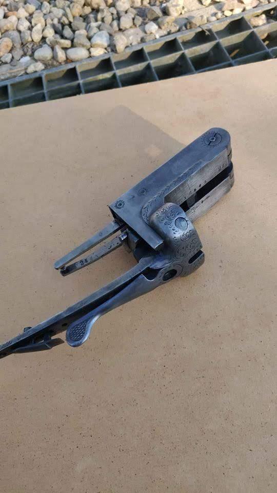 Rénovation d'un vieux fusil Bascul11