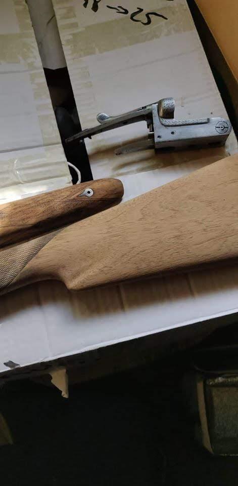 Rénovation d'un vieux fusil Bois_b10
