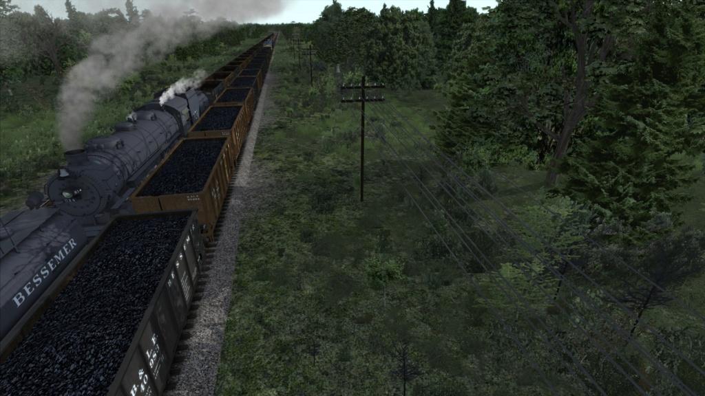 train simulator 2018 rota Bessemer & Lake Erie Screen32