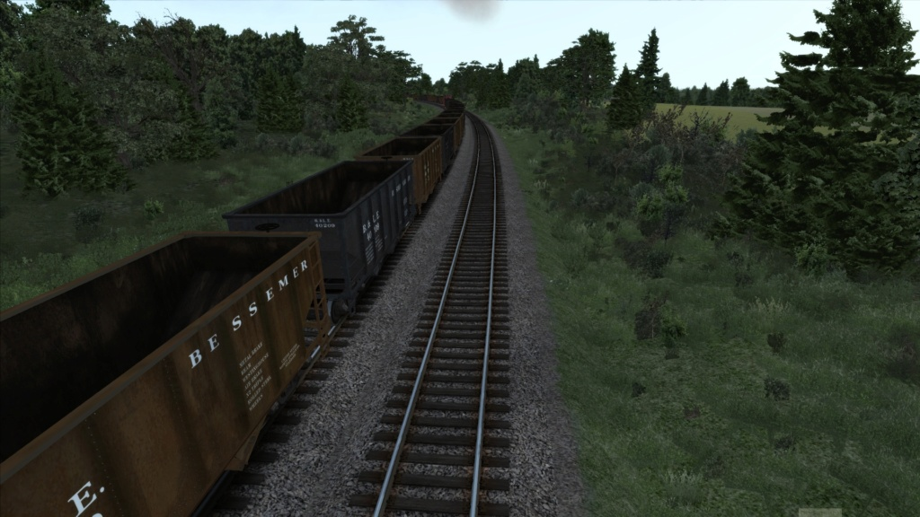 train simulator 2018 rota Bessemer & Lake Erie Screen35