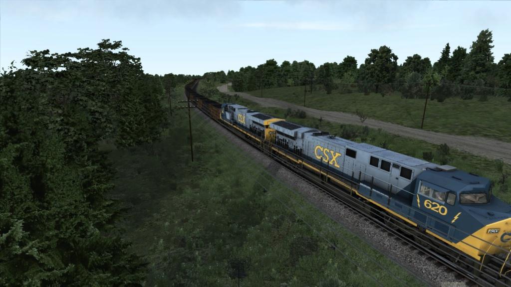 train simulator 2018 rota Bessemer & Lake Erie Screen43