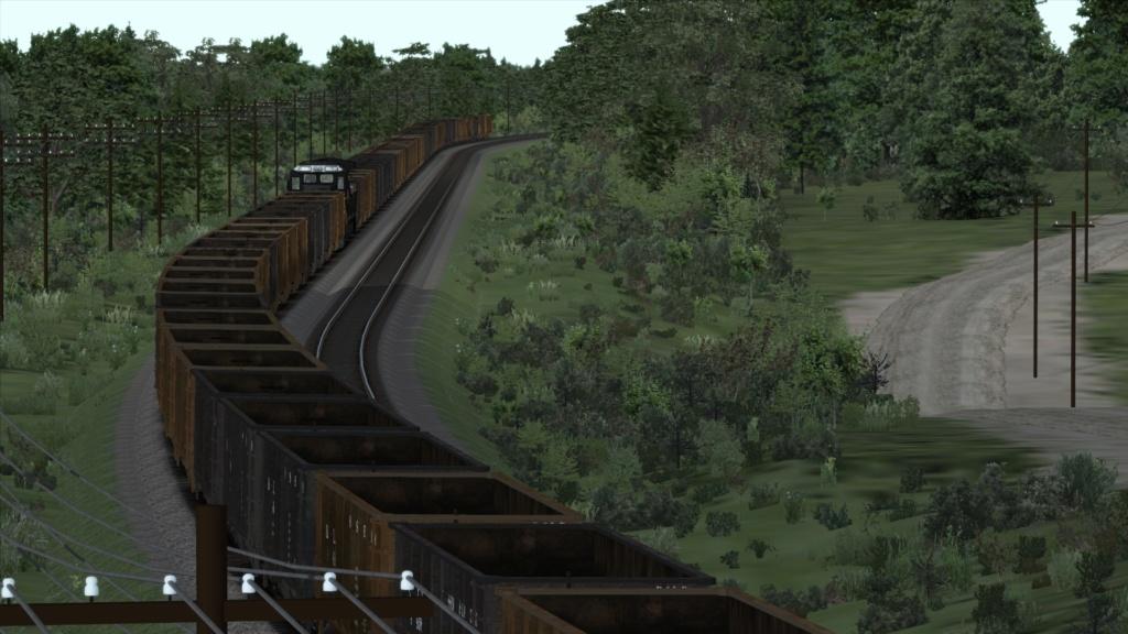 train simulator 2018 rota Bessemer & Lake Erie Screen44