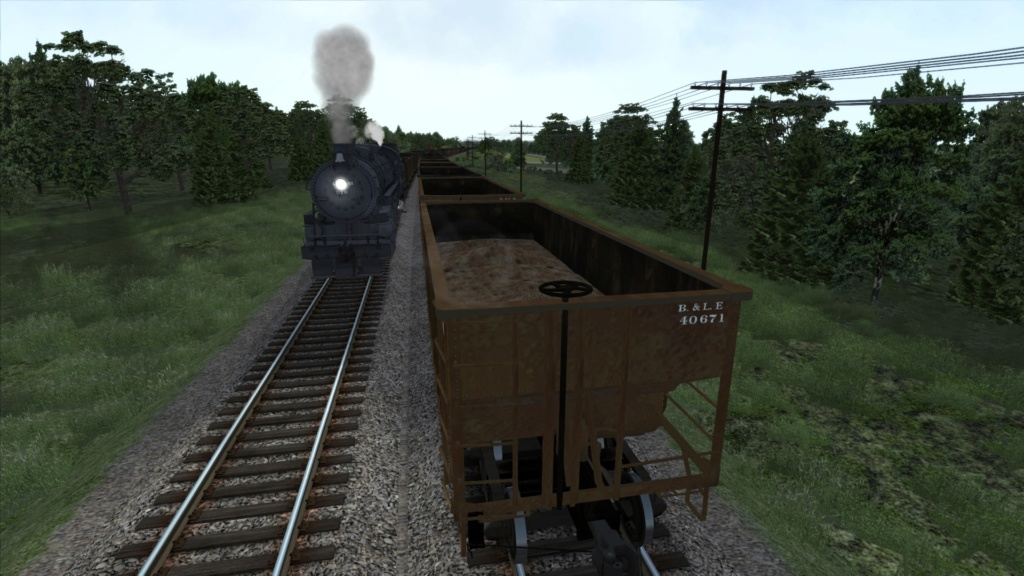 train simulator 2018 rota Bessemer & Lake Erie Screen45
