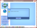The Sims 3 Launcher closing Cattur11