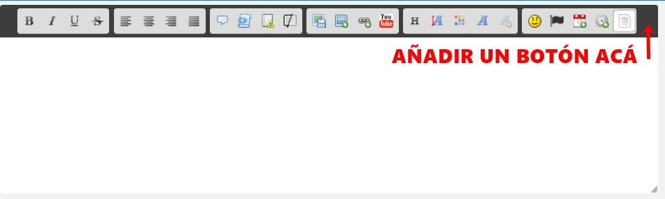 Añadir botón en el editor Editor11